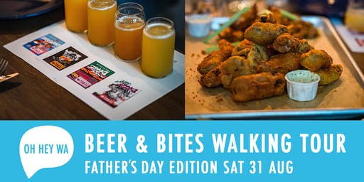 Father's Day Beer and Bites Walking Tour