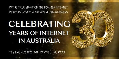 Gala Dinner – Celebrating 30 Years of the Internet in Australia! tickets