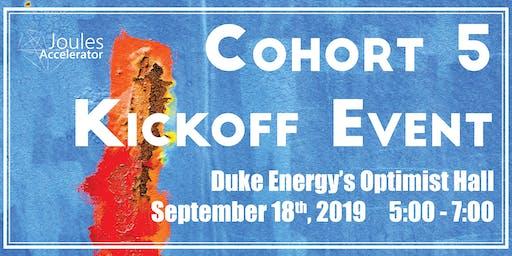 Duke Energy Innovation Center Hosts Joules Accelerator Cohort 5 Kickoff