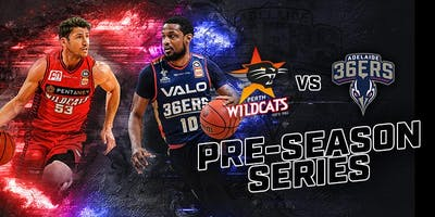 Perth Wildcats Vs Adelaide 36ers @ South West Sports Centre