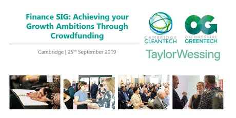 Finance SIG: Achieving your Growth Ambitions Through Crowdfunding tickets