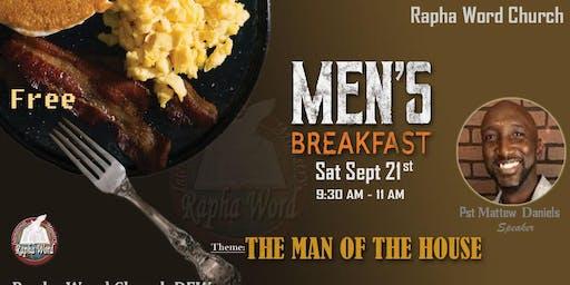 MEN'S BREAKFAST -FREE-