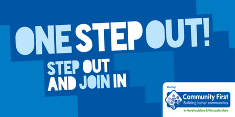 ONE STEP OUT! Launch Event- Worcestershire tickets