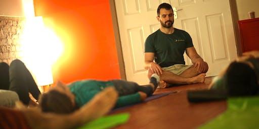 Breath-work class with Anastasis Tzanis