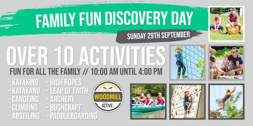 Family Fun Discovery Day - September 29th 2019