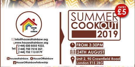 House Of Rainbow Summer CookOut tickets