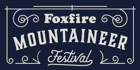 Foxfire Mountaineer Festival 2019 tickets