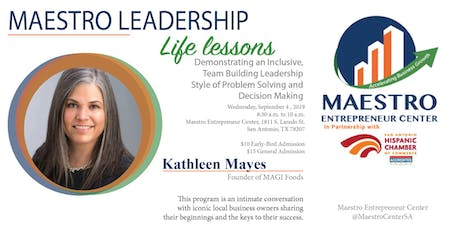 Life Lesson with Kathleen Mayes tickets
