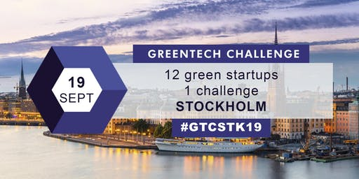 GREENTECH CHALLENGE Investor Day Stockholm 2019