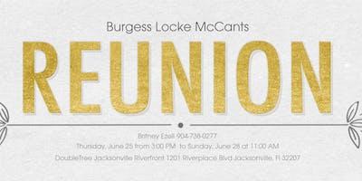 Burgess Locke McCants Family Reunion