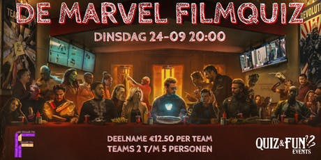 De Marvel FilmQuiz | Filmcafé tickets