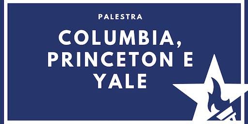 Palestra com Columbia, Princeton e Yale