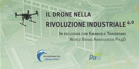 Il drone nella rivoluzione industriale 4.0 - Veneto biglietti