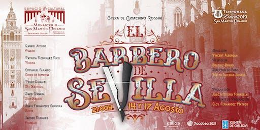 """El Barbero de Sevilla"" de Gioachino Rossini -ópera escenificada-"