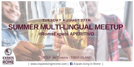 Summer Multilingual Meetup  | Isola del Cinema biglietti