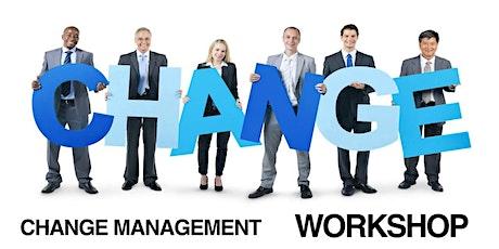 Change Management Classroom Training in Jackson, MI  tickets