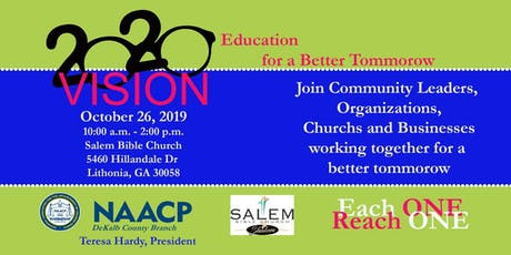 2020 Vision - Education for a Better Tomorrow tickets