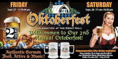 Oktoberfest Stein Pre-Sale