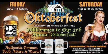 Oktoberfest Stein Pre-Sale tickets