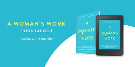 A Woman's Work Book Launch tickets