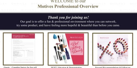 LONDON Motives Professional Overview Presentation tickets