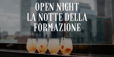 Open night: La notte della formazione