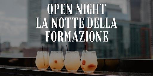 Open night: La notte della formazione a Roma