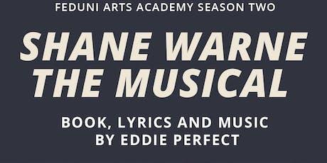 Shane Warne the Musical tickets