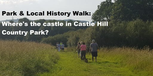 Park & local history walk - Where's the castle in Castle Hill Country Park?