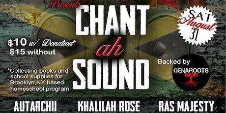 Chant ah Sound tickets