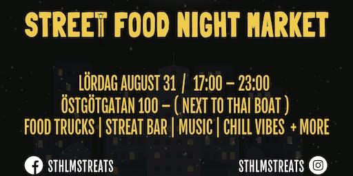 Stockholm Streats Night Market Opening