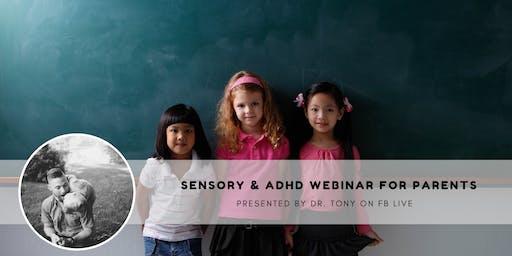 Sensory & ADHD Webinar For Parents