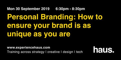 Personal Branding: How To Ensure Your Brand Is As Unique As You Are tickets