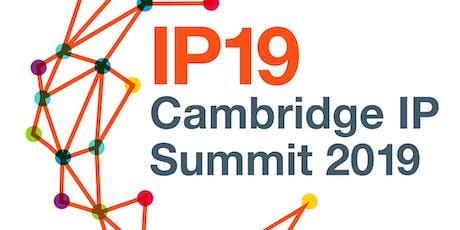 Cambridge IP Summit 2019 tickets