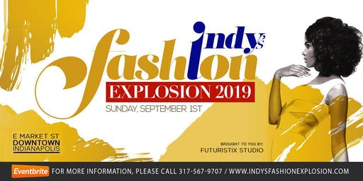 Indy's Fashion Explosion - Vendor Registration.