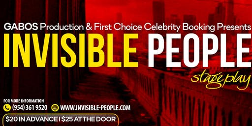 Invisible People Stage Play