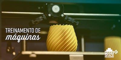 Treinamento de Impressora 3D com 3Eixos | AGOSTO 2019