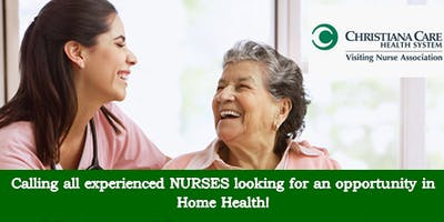 Christiana Care Nurse Open House - Visiting Nurses Association