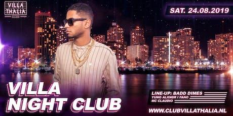 Villa Night Club: Badd Dimes 24-8 tickets