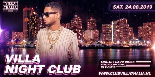 Villa Night Club: Badd Dimes 24-8