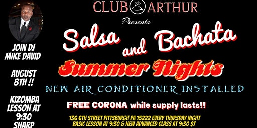 Salsa and Bachata Summer Nights