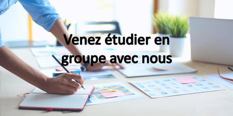 Venez étudier en groupe avec nous billets
