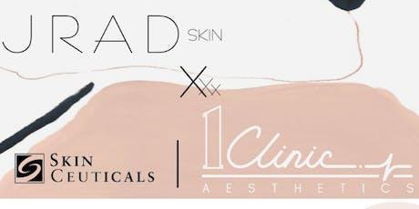 SkinCeuticals X 1Clinic X JRAD Skin tickets
