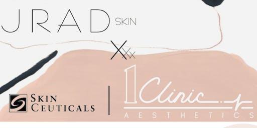 SkinCeuticals X 1Clinic X JRAD Skin