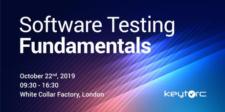 Software Testing Fundamentals Training tickets