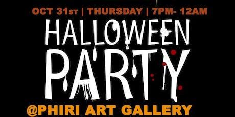 Halloween PARTY @phiri / OCT 31st tickets