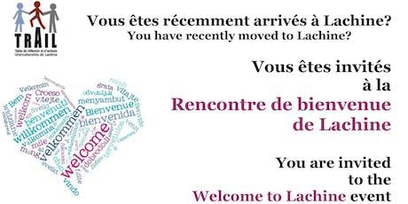 Rencontre de bienvenue de Lachine billets