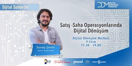 DDM Dijital Sohbetler: Saha Operasyonlarında Dijital Dönüşüm tickets