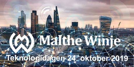 Malthe Winjes Teknologidag 2019 tickets