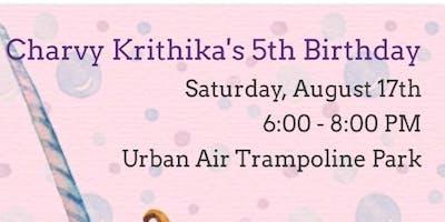 Charvy Krithikas 5th Birthday Party